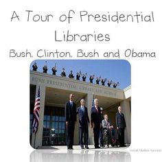 "Your students will start off with a 4 corners activity as they explore the essential question - Who is the best president of the Modern Era? Then they will have the opportunity to ""visit"" each president's library as they learn about the key events that have occurred from 1990-2011. Students will analyze images, read primary sources and take notes on domestic and foreign policies of each president."