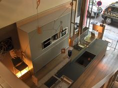 Our kitchen, from Valcucine