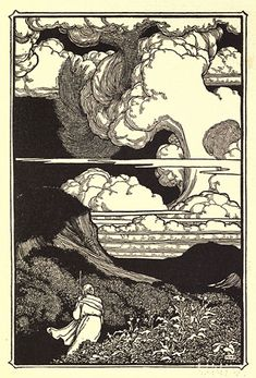 Alone. - William Heath Robinson