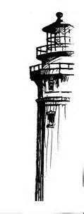 Lighthouse Sketch Logo Briefing: logo para caf