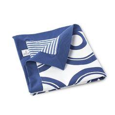 Oilo Wheels Play Blanket- Cobalt Blue