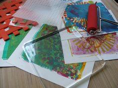 Stage ART'Cr�ation Gelli-Plate