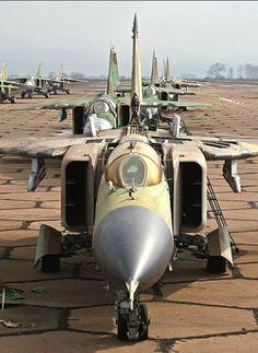 Retired MiG-23s