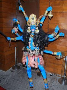 Heidi Klum = déesse hindou