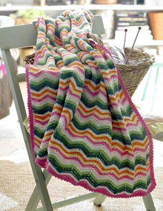Babys første tæppe - Hækling - Håndarbejde og strikkeopskrifter - Familie Journal