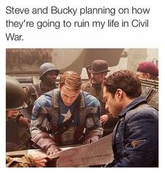 """""""Steve let's put a tragic death scene at the end... is it gonna be me or you?"""" """"Both."""""""