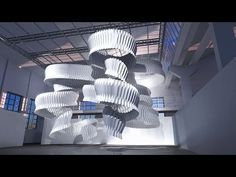 A Milan design week exhibition by Dassault Systèmes will showcase concepts to reduce air pollution by designers including Kengo Kuma, as shown in this movie Kengo Kuma, Stockholm Design, Milan Design, Foundation For Mature Skin, Best Foundation, Es Devlin, Vitra Design Museum, Air Pollution, Sculpture