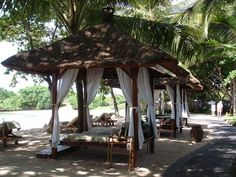 Melia Bali Beach Gazebos....I will love to have this ...in Bali of course!!!