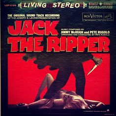 Pete Rugolo - Jack the Ripper 1960. #vintage #vinyl #shellac #cratedigging At home in many genres, enjoy your daily cratedigging inspiration here:  Facebook.com/cratesofspace