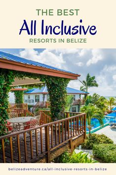 Top 5 All Inclusive Resorts in Belize 2019 – Belize Adventure - Travel Advice by Local Experts Belize Hotels, Belize Vacations, Belize City, Belize Travel, Beach Vacations, Romantic Vacations, Romantic Getaways, Romantic Travel, Belize