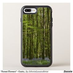 """""""Forest Flowers"""" - Customizable OtterBox Symmetry iPhone 8 Plus Case Forest Flowers, 7 Plus, Wonderful Images, Iphone 8 Plus, Phone Cases, Products, Gadget, Phone Case"""