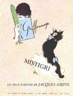 Jacques GRIFFE 1955 -Griffonnage & Mistigri -Gruau