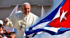 El papa Francisco realizó su primer discurso este sábado en La Habana, minutos después de aterrizar en el aeropuerto José Martí. Parado en un escenario mín