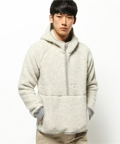 Snow Peak,【セール】ウール フリース プルオーバー|Wool Fleece Pullover Find looks using this item.