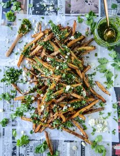 chimichurri fries wi
