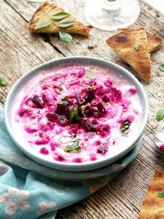 lightly seasoned beetroot and #yogurt salad...from ECurry!
