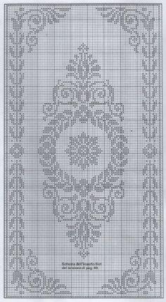 Kira scheme crochet: Scheme crochet no. 1687