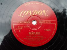 Erna Sack - Wiener Blut: Shellac, Single For Sale Country Uk, Shellac, Singing, Label, London, How To Make, London England