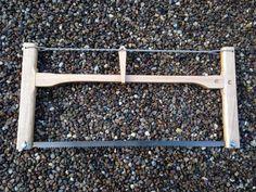 Bushcraft folding bow saw by PhilsWoodTurning on Etsy