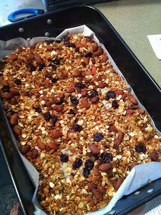 heavenly ingredients: Sugar Free Granola
