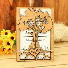 Hey, I found this really awesome Etsy listing at https://www.etsy.com/ca/listing/288537113/love-tree-wedding-invitation-rustic