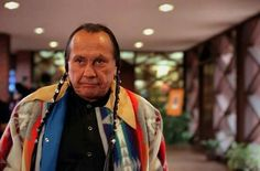 Russell Means leaves a meeting with Denver clergy who mediated peace when Indian activists and planned a protest of the city's Columbus Day parade in October Native American Actress, Native American Warrior, Native American Indians, American Actors, Columbus Day Parade, The Last Warrior, Russell Means, Graham Greene, The New Mutants