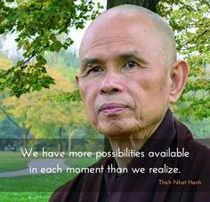 We have more possibilities available in each moment than we realize.