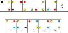 WISC-V Matric Reasoning Practice