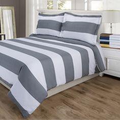 600TC Cotton Rich Cabana Stripe Duvet Cover Sets by Impressions