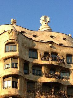 Modernism in Barcelona La Pedrera by Gaudí