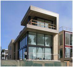 Beach House by Marmol Radziner Architects :: Venice L.A.
