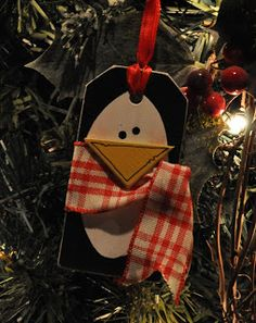 Megpie Designs: Penguin Gift Tag