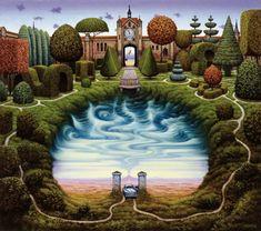 Mistery garden Jacek Yerka