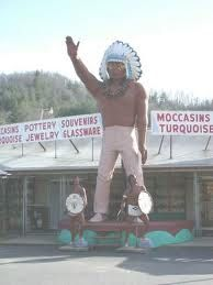 Cherokee, North Carolina. i've been here several times. it's an amazing place!