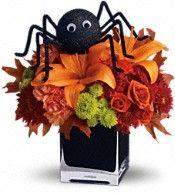 Teleflora's Spooky Sweet Flowers, union members save 20% here!