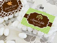 Fall for Love Personalized Jelly Bean Packs