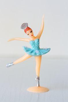Ballerina Cake/Cupcake Toppers: Nutcracker Snowflakes