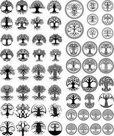 New Celtic Tree Tattoo Tatoo Ideas Celtic Tree Tattoos, Viking Tattoos, Wiccan Tattoos, Warrior Tattoos, Symbolic Tattoos, Celtic Symbols, Celtic Art, Mayan Symbols, Irish Symbols