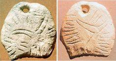 Plăcuţa de os incizată, Mitoc, judeţul Botoșani, România,27.000 ani Î.Ch