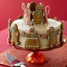 Ginger Cake with Maple Frosting