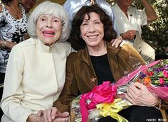 With Carol Channing 2016