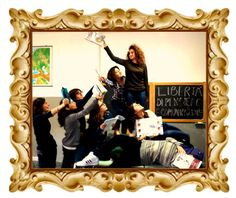 La libertà che guida il popolo di Eugène Delacroix dai ragazzi della redazione CircoEquestre inviataci da simonasica3 #imparalarte
