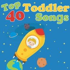 Toddlers will have a blast grooving and learning with Top 40 Toddler Songs. Perfect for at home play time, in the car music time and at the daycare learning time!