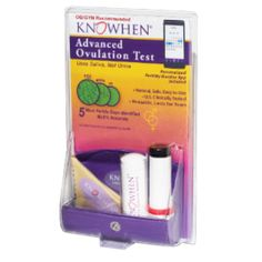 KNOWHEN® Advanced Ovulation Test Kit The #1 selling saliva ovulation  ** Follow me on www.MommasBacon.com **
