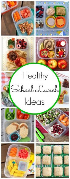 Healthy School Lunch Ideas - www.classyclutter.net