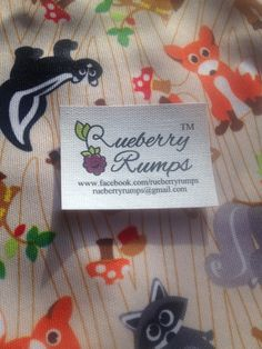 Looking for an adorable quality cloth diaper made in the USA! Visit Rueberry Rumps on Facebook!