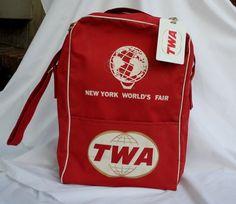 oh man, vintage 60's world's fair twa bag... drool...