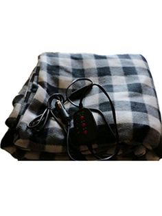 Heated Fleece Travel Electric Blanket 12 Volt Plaid for Automobile With Button-2 People - http://www.caraccessoriesonlinemarket.com/heated-fleece-travel-electric-blanket-12-volt-plaid-for-automobile-with-button-2-people/  #Automobile, #Blanket, #Button2, #Electric, #Fleece, #Heated, #People, #Plaid, #Travel, #Volt #12V-Heated-Blankets, #Fall-Winter-Driving