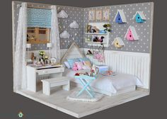 OOAK Diorama nordic stars 1 | by Bimba Bambolina (Yolanda)