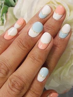 Pastel Nail Art!!